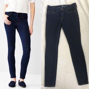 Gap High Stretch Legging Jeans dark blue skinny